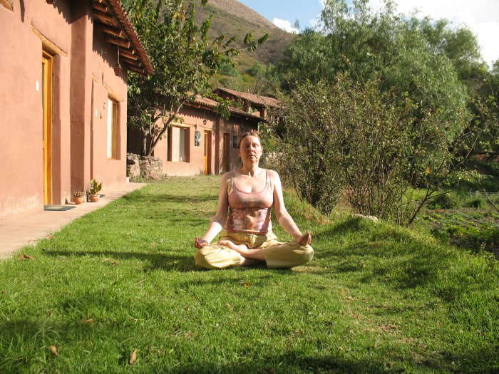 Meditation - Andean Spirit Lodge