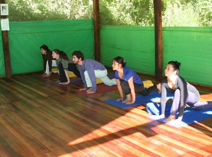Clase de Yoga - Andean Spirit Lodge