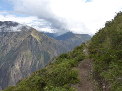 Hiking to the Condor Viewpoint - Andean Spirit Lodge